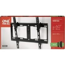 one for all tv muurbeugel 60 solid tilt
