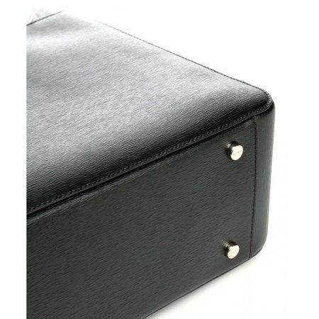 DKNY Bryant Park Handtas saffiano rundleer zwart R74A3008-BGD