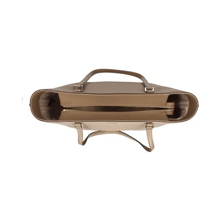 DKNY Whitney Shopper rundleer taupe R92AHC45-DUN