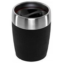 travel cup thermosbeker rvs 0,2 l, antraciet