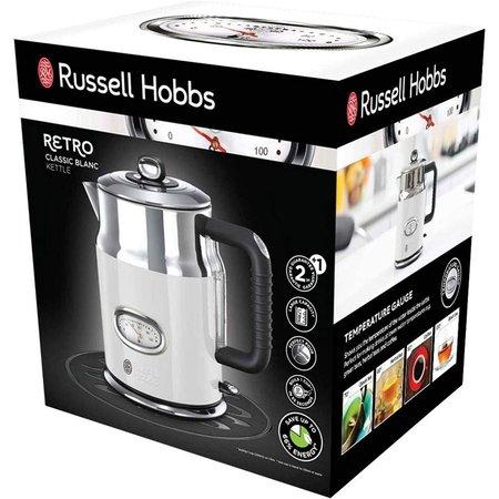 Russell Hobbs Retro - grote waterkoker - Wit 21674-70