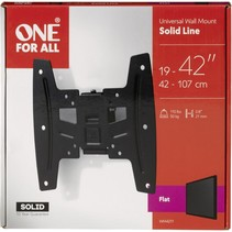 one for all tv muurbeugel 42 solid flat