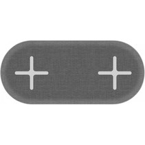 wireless pad double space grey