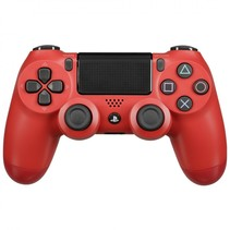 playstation ps4 controller dual shock wireless red v2