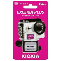 exceria plus microsdxc 64gb class 10 uhs-1 u3