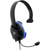 recon chat voor ps4 zwart/blauw over-ear headset