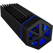 icy box ib-1823mf-c31 usb type-c voor m.2 nvme ssd