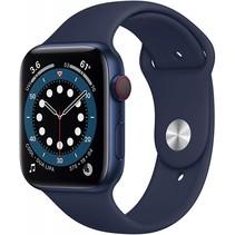 watch series 6 gps + cell 44mm blue alu navy sport band
