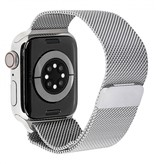 Apple watch series 6 gps + cell 40mm sil. steel silver milanese