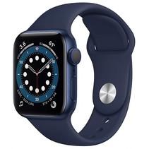 watch series 6 gps 40mm blue alu case navy sport band