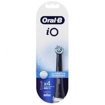 oral-b io opzetborstels ultimative reiniging 4 st. black