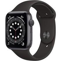 watch series 6 gps 44mm gray alu case black sport band
