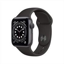 watch series 6 gps 40mm gray alu case black sport band