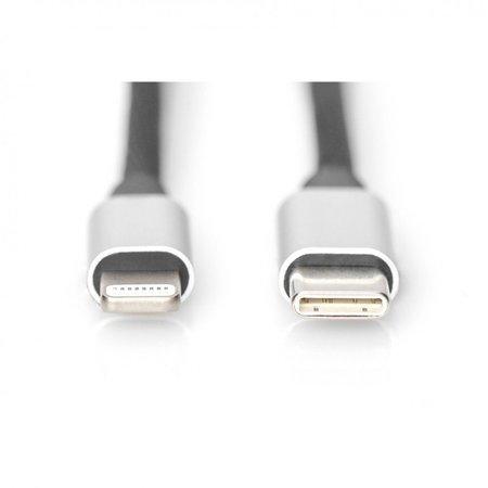 Digitus kabel lightning-usb-c 1m