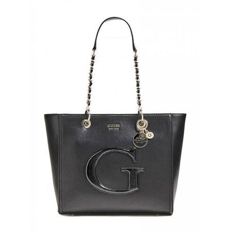 Guess dames schoudertas - shopper Chrissy Black HWPG7440230/BLA