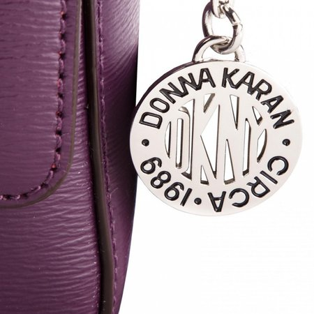 DKNY Bryant Flap dames schoudertas paars R82E3467 B7J