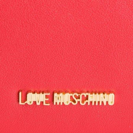 Love Moschino Smooth Crossbodytas - Rood JC4309PP07KQ0500