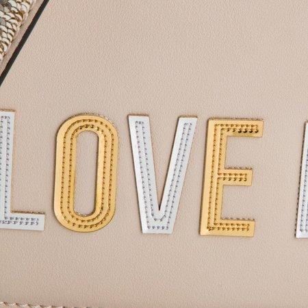 Love Moschino dames handtas ivoor JC4257PP07KI0110