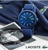 Lacoste heren Polshorloge Siliconen - blauw - 42 mm LC2010987