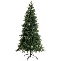 kunstkerstboom groen h 120 cm incl. 110 led