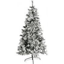 kunstkerstboom besneeuwd h 180cm incl. 280 led