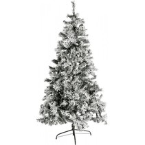 kunstkerstboom besneeuwd h 240cm incl. 470 led