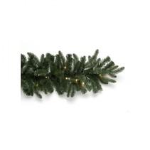 kunstnaaldslinger groen 180 cm incl. 30 led