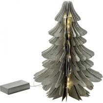 decoratie papierboom klein incl. led