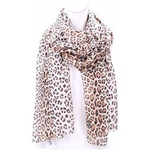 dames luipaard shawl