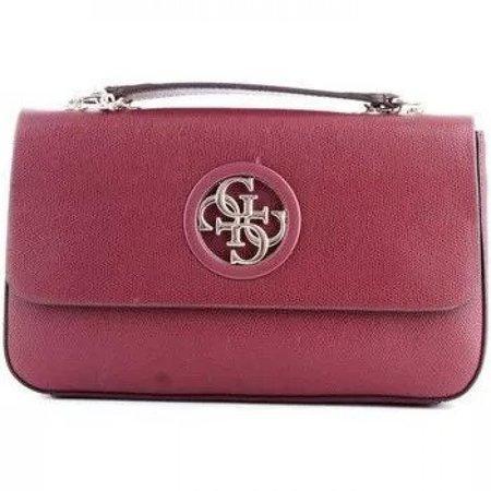 Guess dames schoudertas Vintage Convertible Shoulder Bag Merlot HWVG7186210/MER