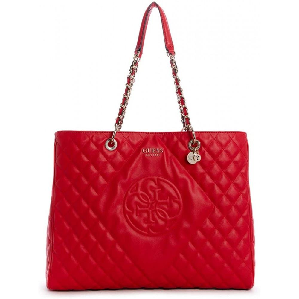 Guess dames schoudertas - shopper sweet candy HWVG7175240/RED