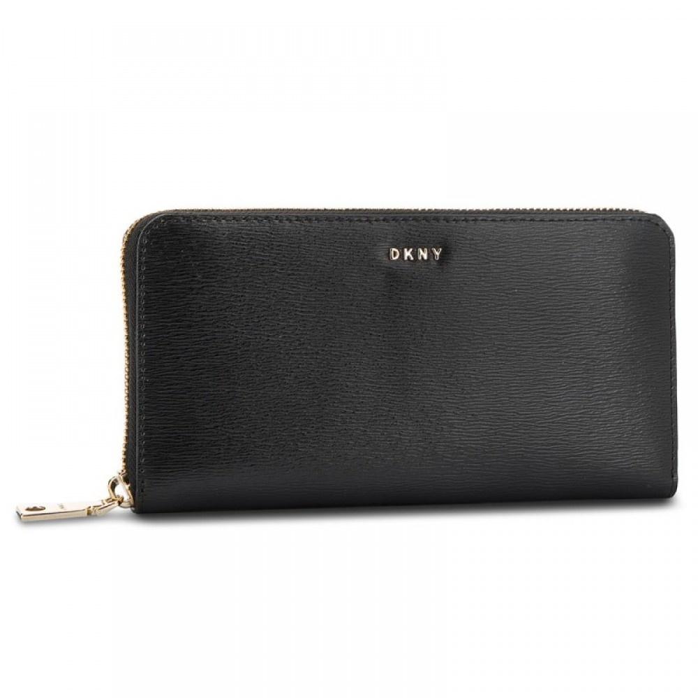 DKNY Bryant dames portemonnee Black/Gold R8313658 BGD