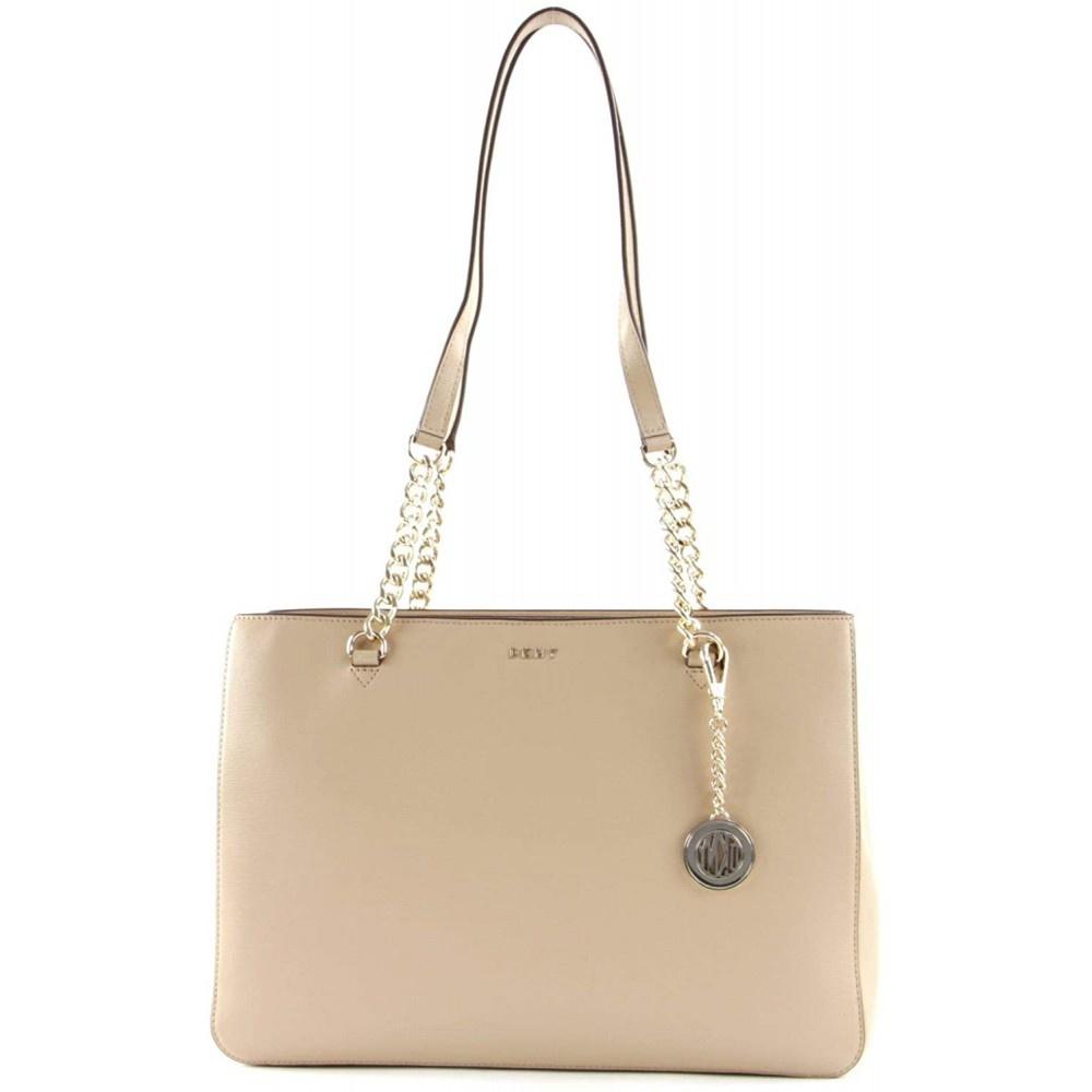 DKNY Bryant dames shopper zand R74A3008/SAN