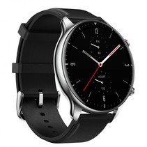 gtr 2 classic black stainless steel, leather straps