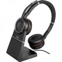 evolve 75+ uc wireless stereo on-ear headset bt