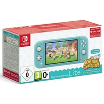 switch lite turkoois incl. animal crossing