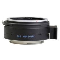 pro t-s adapter voor mamiya 645 op fuji gfx
