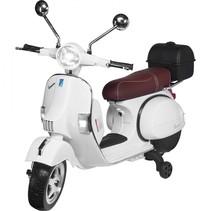 actionbikes vespa px 150 wit kinderscooter