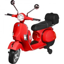 actionbikes vespa px 150 rood kinderscooter