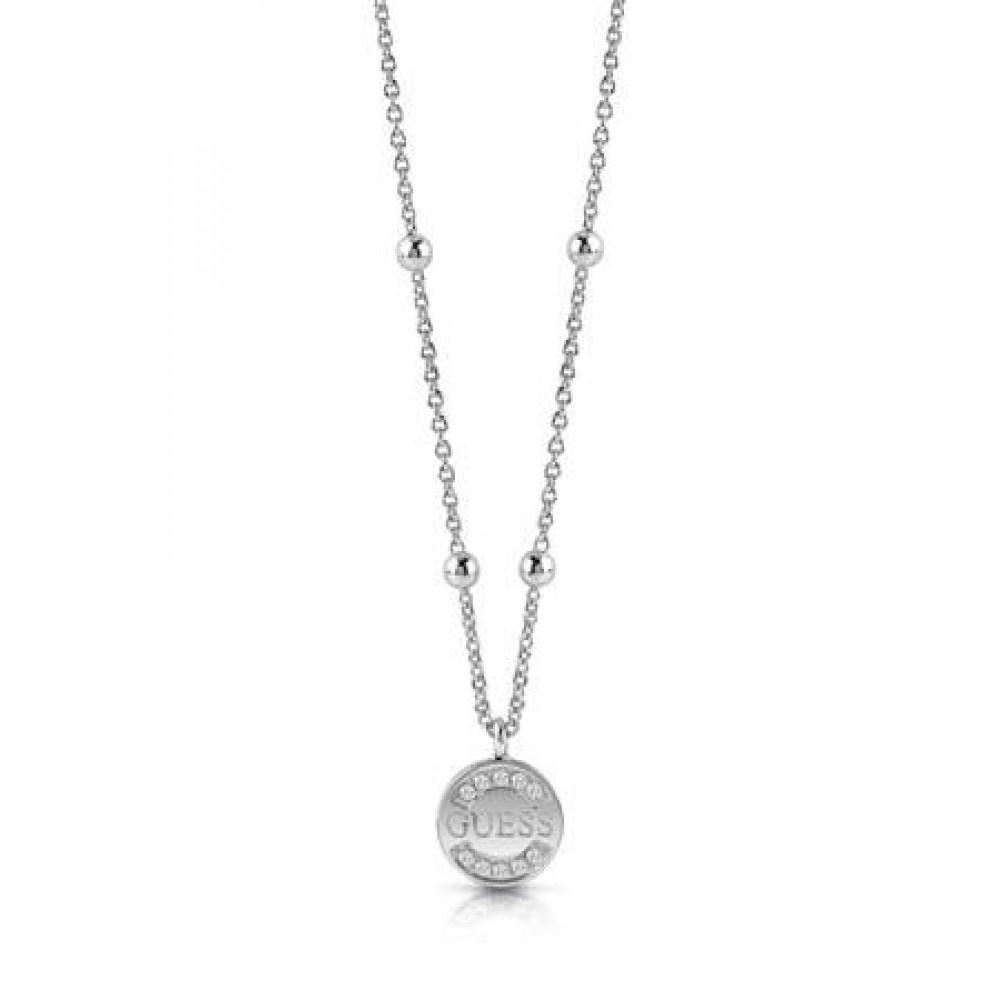 Guess ketting zilver UBN28037