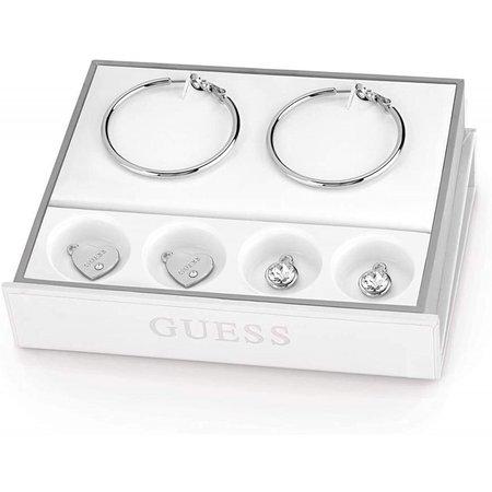 Guess oorbellen 3 delige set UBS84004