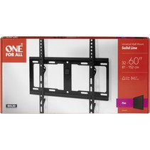 one for all tv muurbeugel 60 solid flat