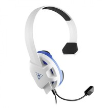recon chat voor ps4 wit/blauw over-ear headset