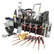 tool container work gereedschapstas gevuld