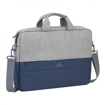7532 grey/dark blue anti-theft laptop bag 15.6