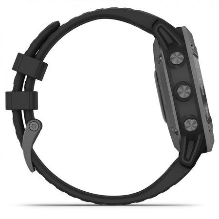 Garmin fenix 6 pro solar grijs/zwart