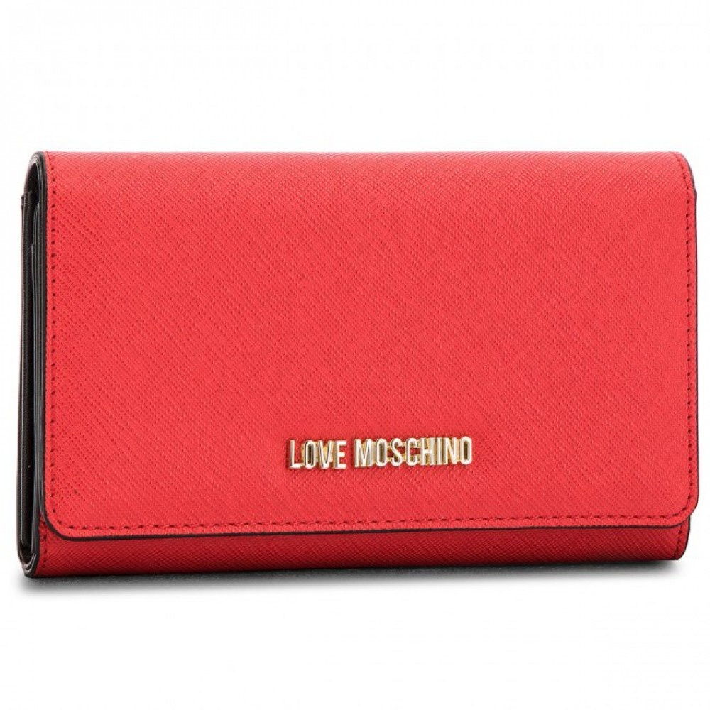 Love Moschino Large wallet rood
