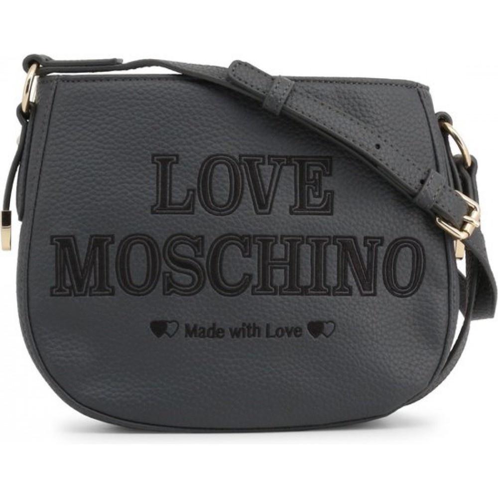Love Moschino crossbody grijs JC4285PP08KN