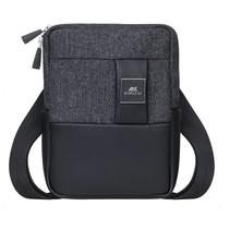 8810 black melange crossbody bag for tablets 8