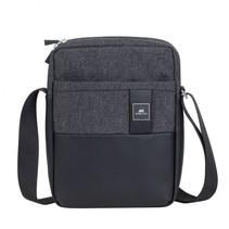 8811 black melange crossbody bag for tablets 11